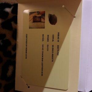 Gucci Bags - Gucci soho mini purple gold chain crossbody